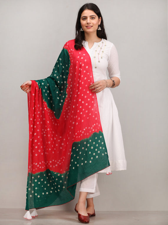 Noor Aliha -   Embroidered Kurta Pant Set With Bandhani Dupatta - KS113AYYD3