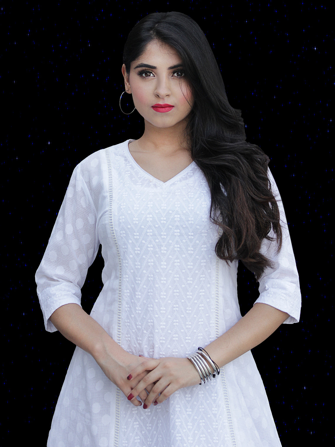 Chandni Taaj - Cotton Kurta Palazzo Set - KS36SFP01