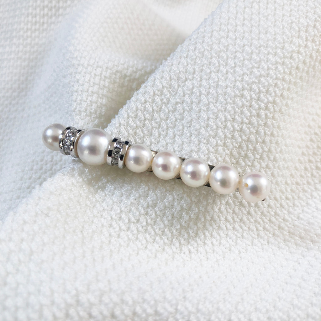 That's Chong - Hair Clips (CWH0002S) - Freshwater Pearl