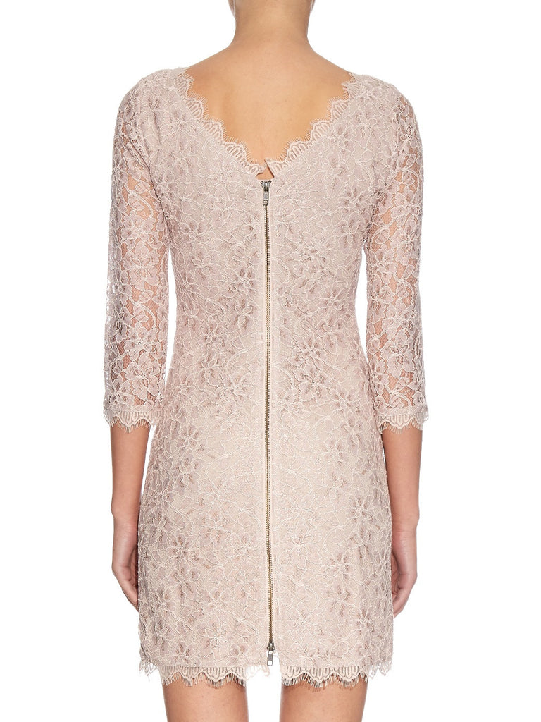 Nude Zarita Lace Mini Dress