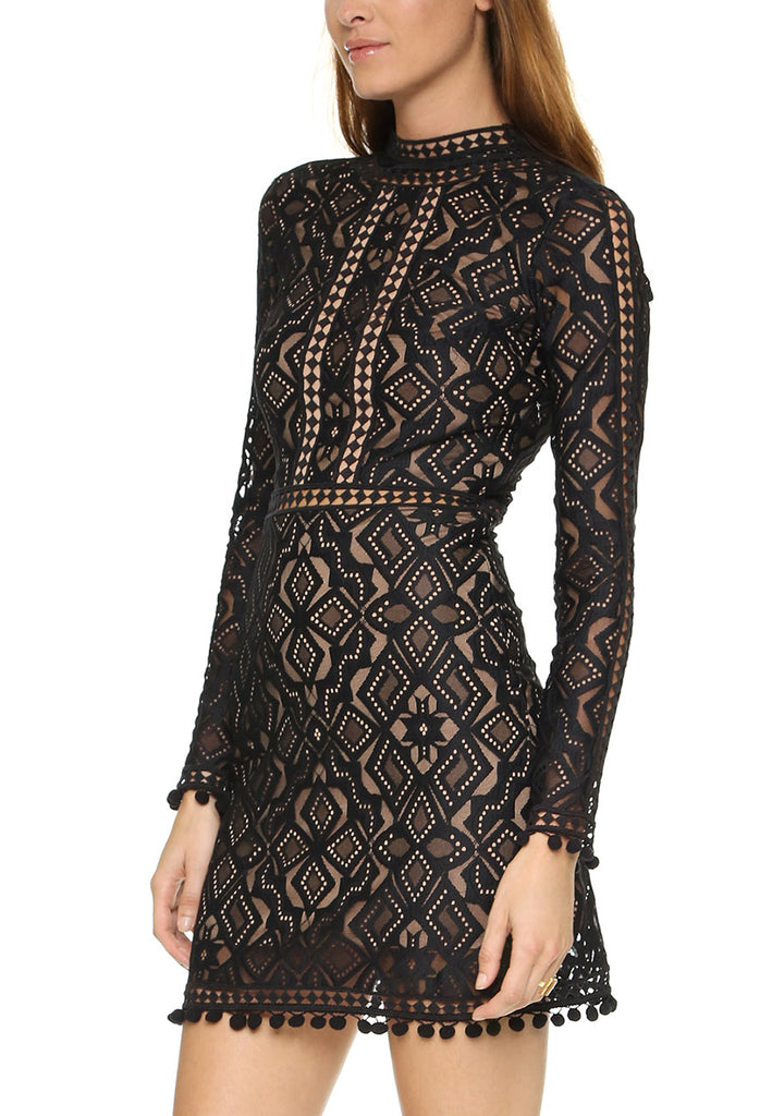 Black Florence Cocktail Dress