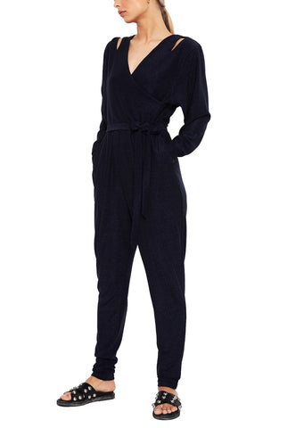 Royal Blue Ai Culotte Jumpsuit