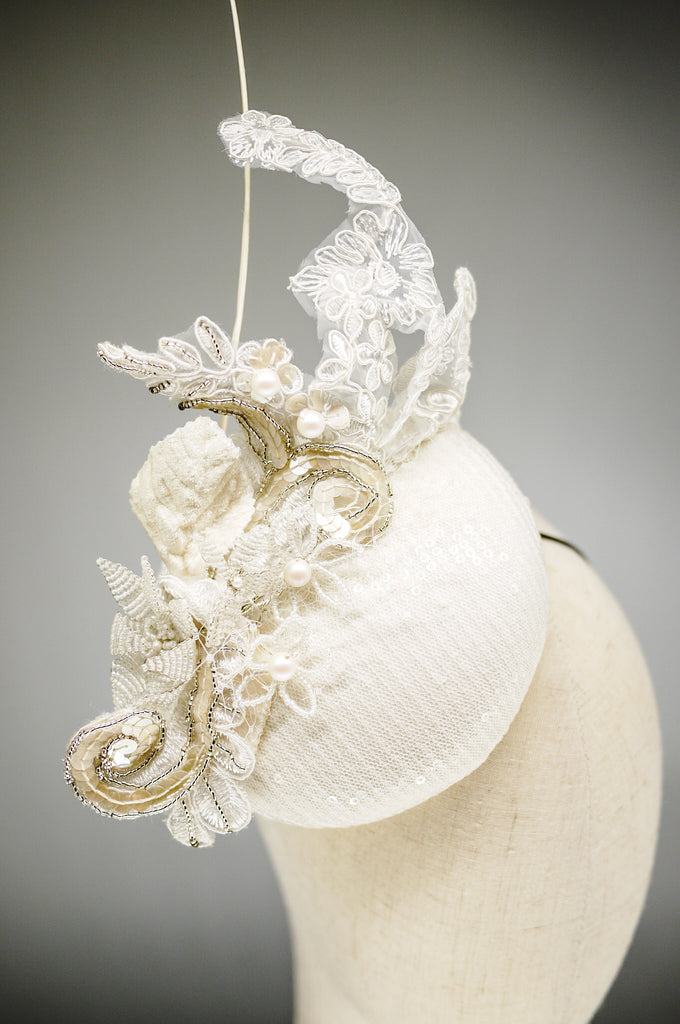 Being of Love - Lace and Sequins Hat