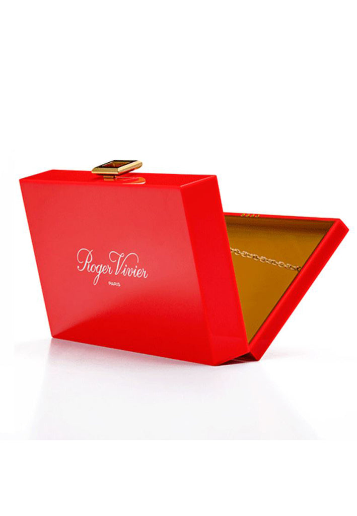 Red La Bel Limited Edition Box Clutch