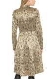 Gold Xia Metallic Jacquard Coat