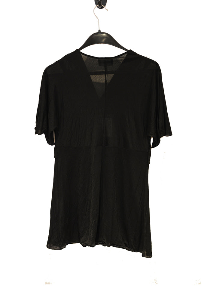 Black Twisted Front Top (Pre-loved)