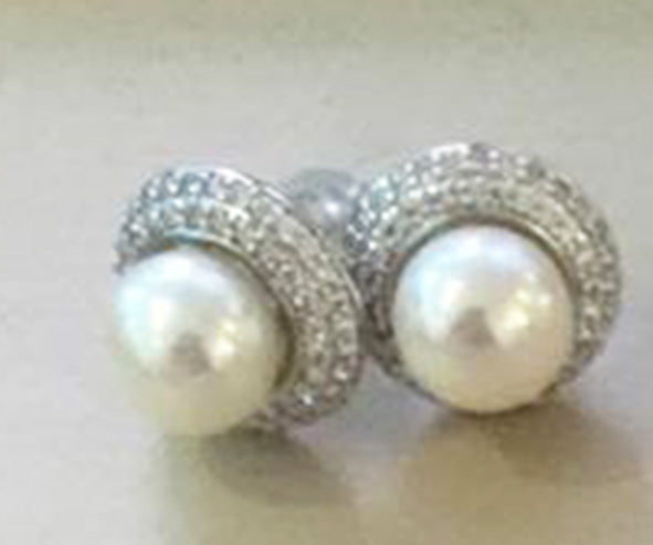 That's Chong - Silver Earrings (small)