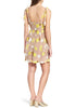Beige Fruitpunch Sequins Embroidered Mini Dress