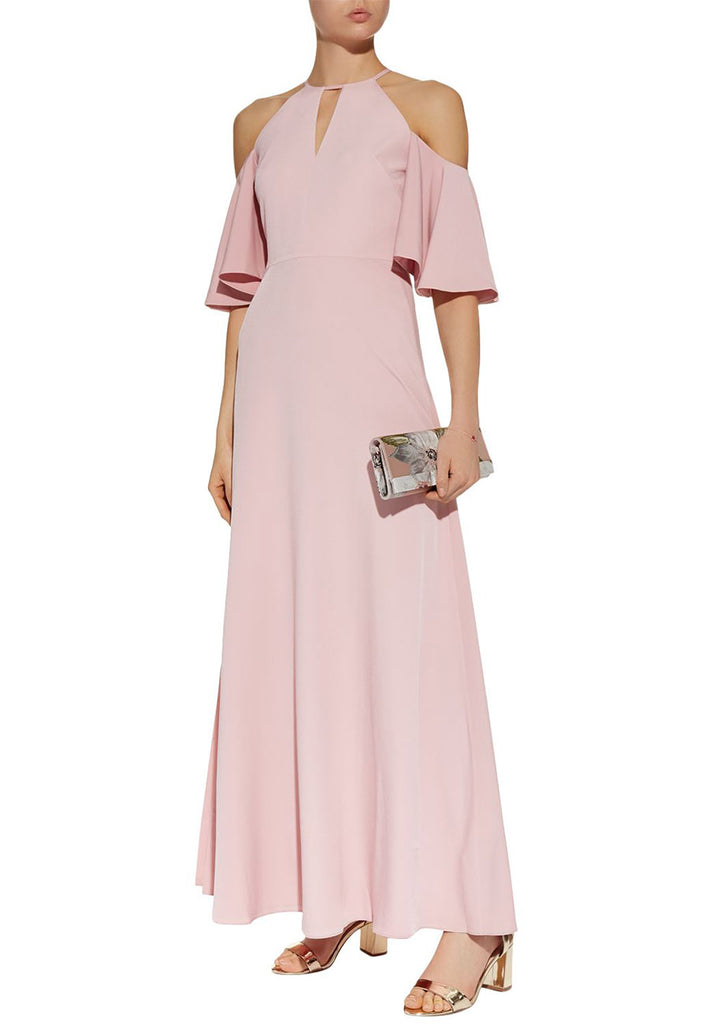 afff68a51 Ted Baker Nude Dulciee Cut-out Shoulder Maxi Dress
