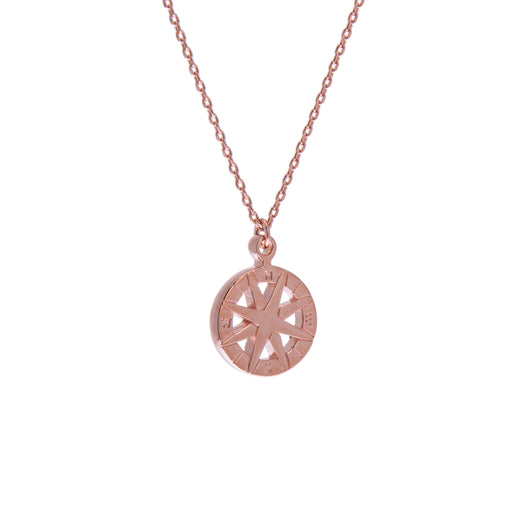 Rose Compass Necklace