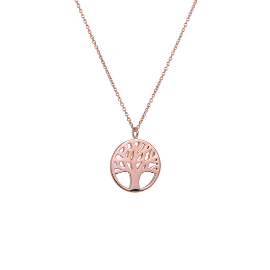 Rose Tree of Life Necklace