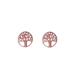 Rose Tree of Life Earring
