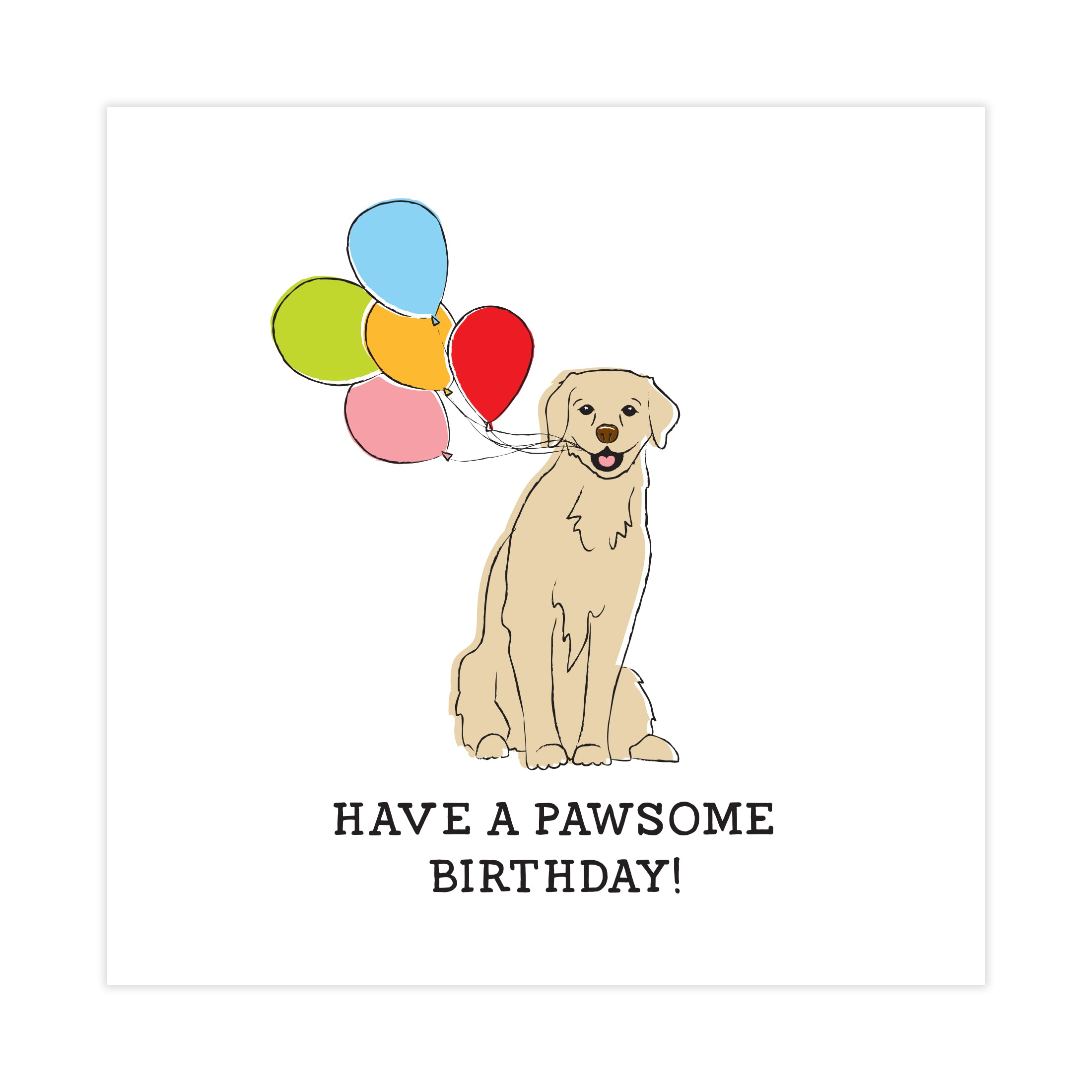 Have a pawsome birthday card toffie have a pawsome birthday card bookmarktalkfo Image collections