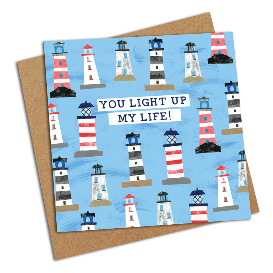 You Light Up My Life! - Greetings Card