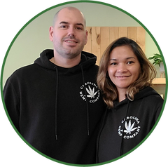 Owners, Shaun and Sheryl, of Carolina Hemp Company - Columbus, OH