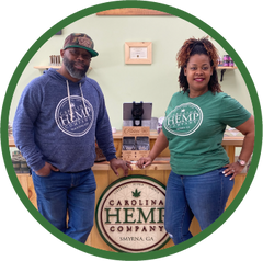 Carolina Hemp Company owners in Smyrna, GA - Ken and Brandii