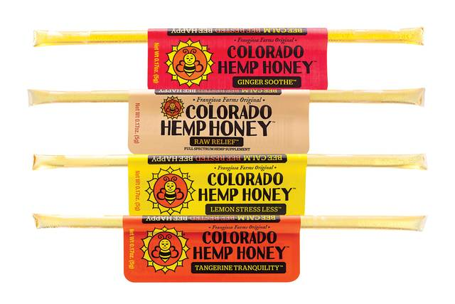Full Spectrum Hemp Extract Honey Sticks - Carolina Hemp Company
