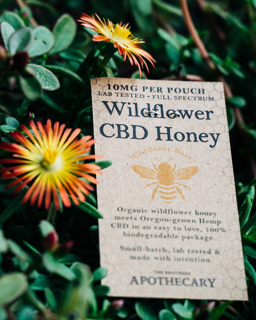 Organic Wildflower CBD Honey - Carolina Hemp Company