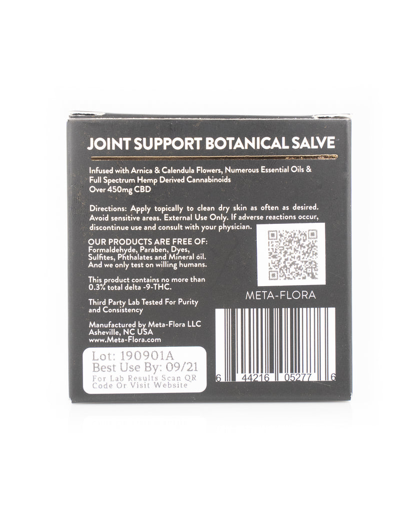 Meta-Flora Joint Support Salve - Carolina Hemp Company
