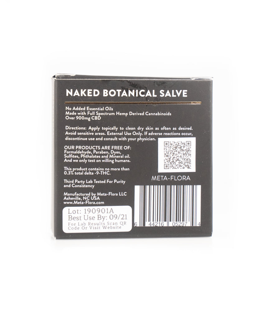 Meta-Flora Naked Salve - Carolina Hemp Company