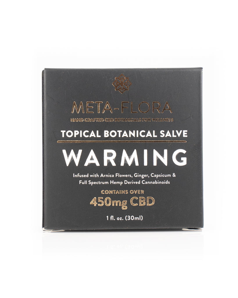 Meta-Flora Warming Salve - Carolina Hemp Company