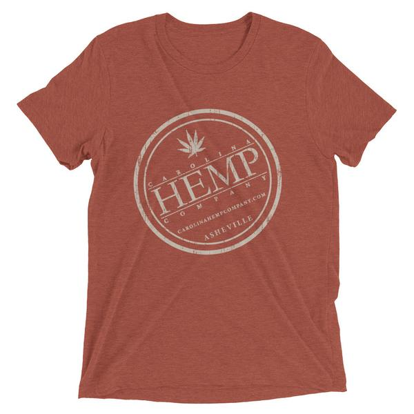CHC Distressed Logo T-Shirt | Unisex - Carolina Hemp Company
