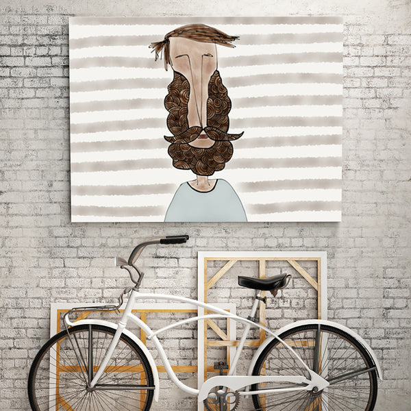Beard Love Ekinakis Paintings