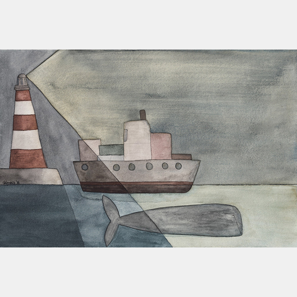 LIGHTHOUSE Ekinakis Illustration