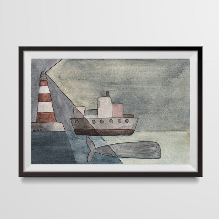 LIGHTHOUSE Ekin Büyükşahin Illustration