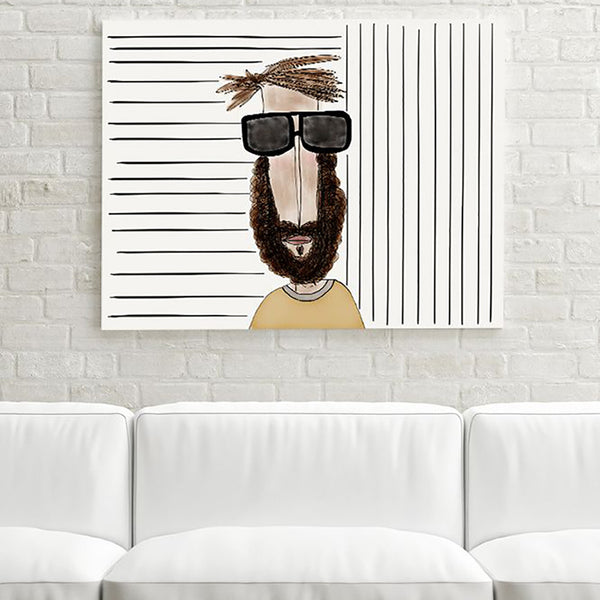 Mr. Sunglasses Ekinakis Illustration