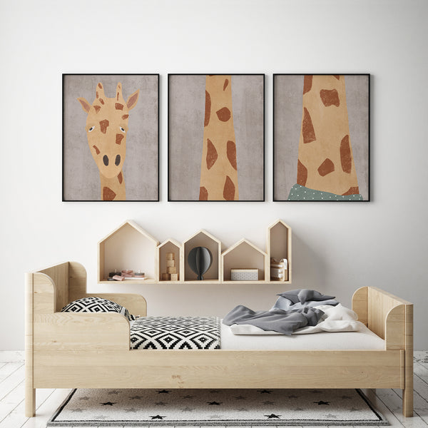 EKINAKIS FOR CHILDREN - GIRAFFE [THREE PIECES]