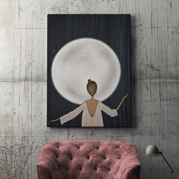 Moonstruck - original contemporary art.