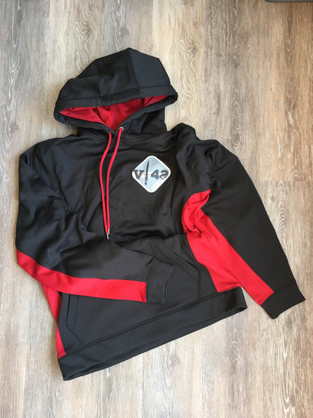 Black and Red Hoodie