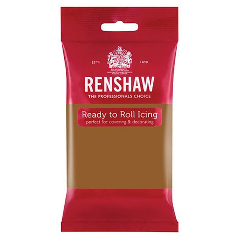 Renshaw Sugar Paste - Teddy Bear Brown 250g