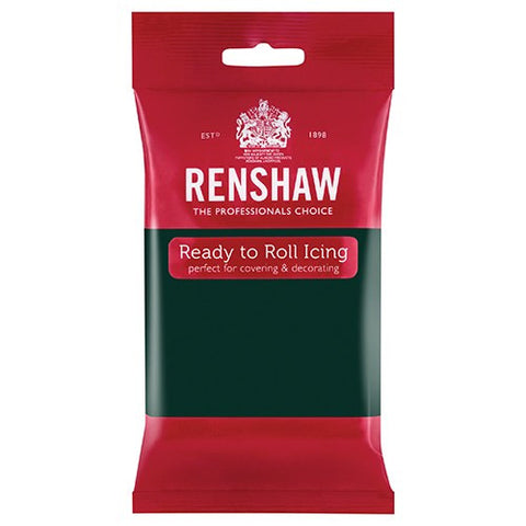 Renshaw Sugar Paste - Bottle Green 250g