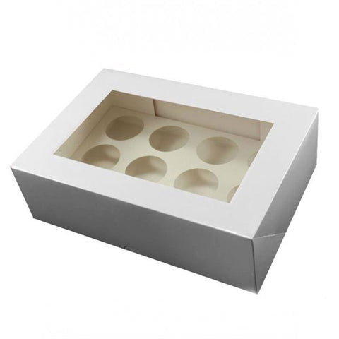 12 Cavity Cupcake Box With Insert