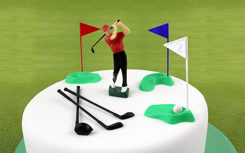 PME Golf Cake Topper 13 piece set