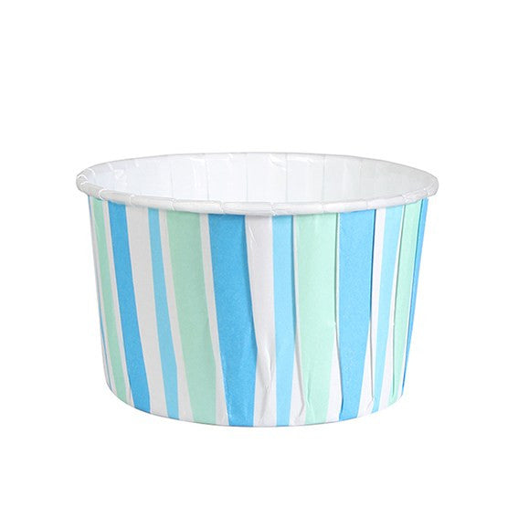 Baking Cups - Blue Striped