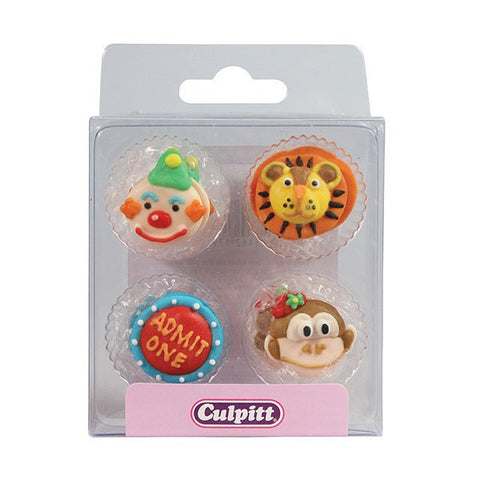 Circus Sugar Decorations