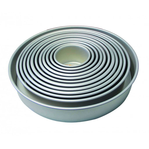 PME 3 Inch Deep Round Cake Pan- 6 Inch