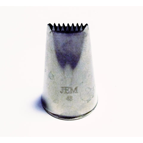 JEM No.48 Ribbed Basket Weave Icing Nozzle