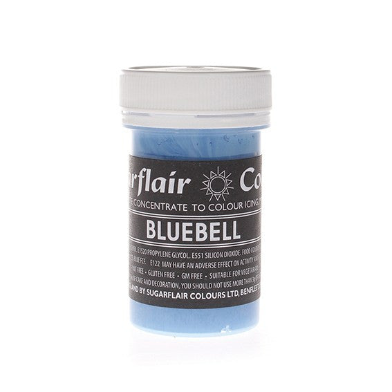 Sugarflair Paste Colours - Pastel Bluebell 25g