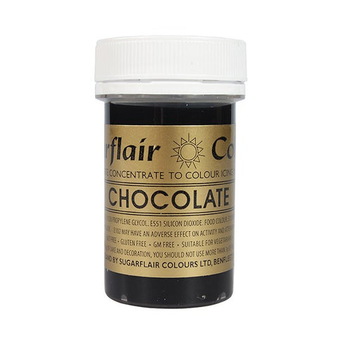 Sugarflair Paste Colours - Chocolate-25g