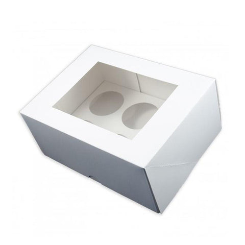 6 Cavity Cupcake Box With Insert