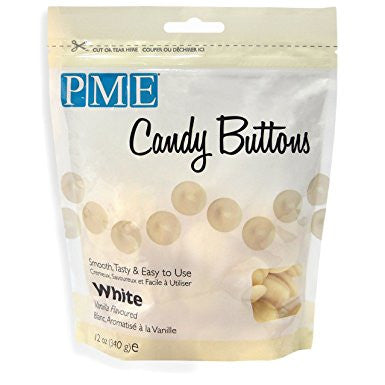 PME White Candy Buttons 340g