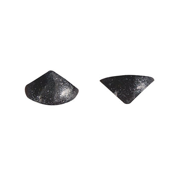 Jelly Studs Metallic Black - Pack of 20