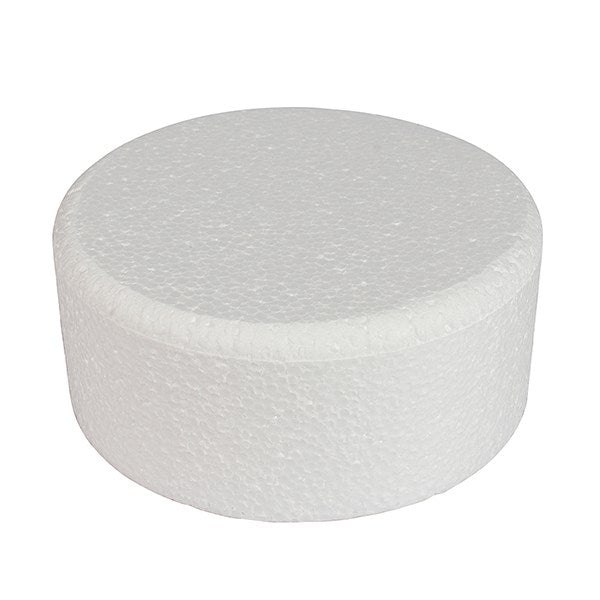"Round Bevelled 10"" x 4"" high Cake Dummy"