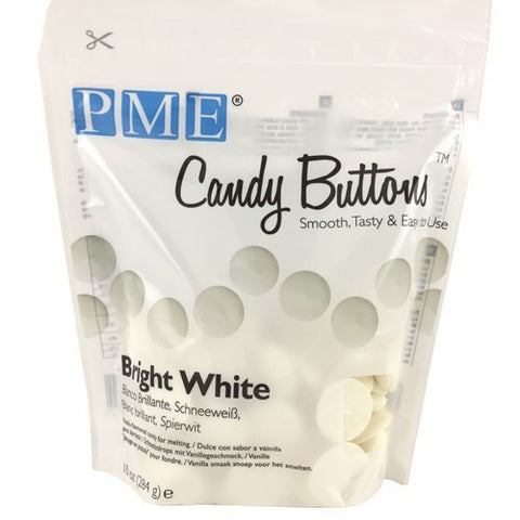 PME Bright White Candy Buttons 340g