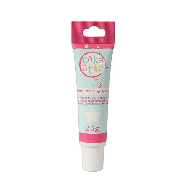 Cake Star Writing Icing - White - 25g