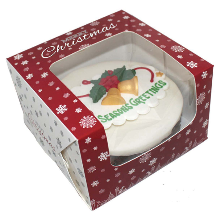 6 Inch Christmas Cake Boxes